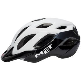 MET Crossover XL Cykelhjelm hvid/sort